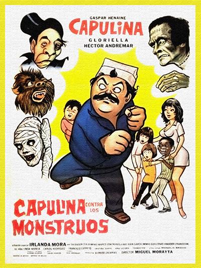 Capulina contra Los Monstruos