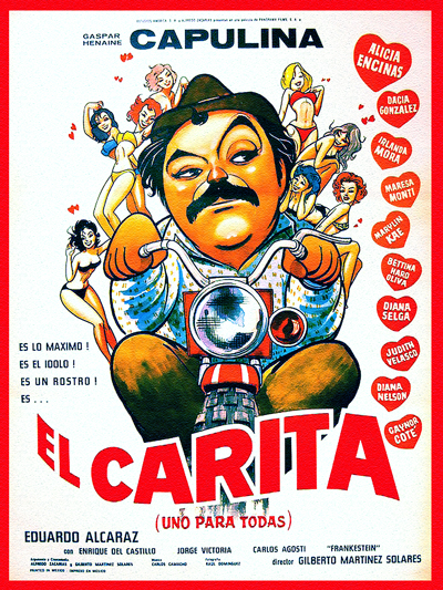 "Cover of ""El Carita"" film"