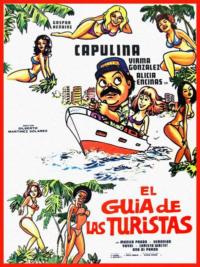 """Cover of """"El Guia de las Turistas"""" film"""