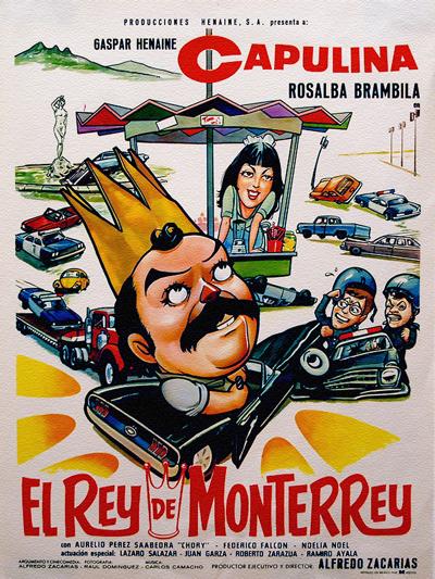 """Cover of """"El Rey De Monterrey"""" film"""
