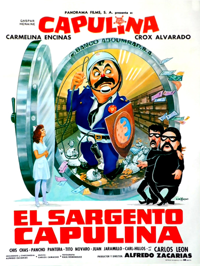 "Cover of ""El Sargento Capulina"" film"