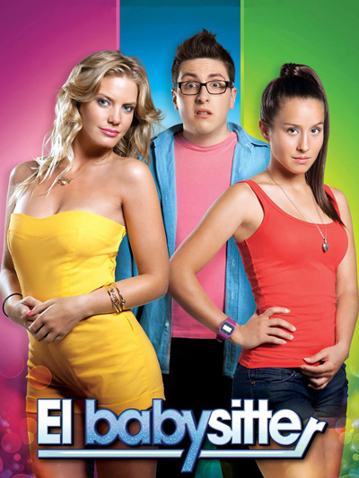 "Cover of ""El Babysitter"" film"