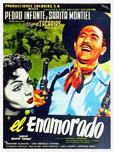"Cover of ""El Enamorado"" film"