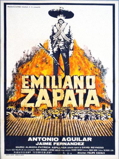 """Cover of """"Emiliano Zapata"""" film"""