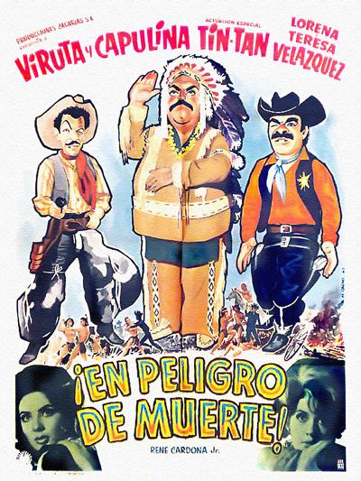 """Cover of """"En Peligro de Muerte"""" film"""