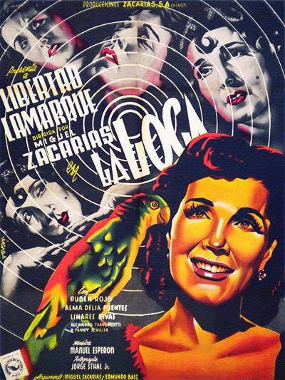 """Cover of """"La Loca"""" film"""