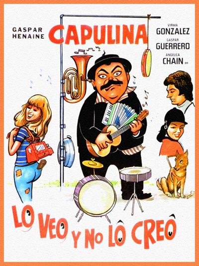 """Cover of """"Lo Veo y No Lo Creo"""" film"""
